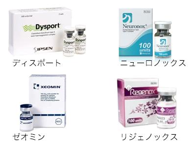 ボツリヌス・トキシン製剤注射