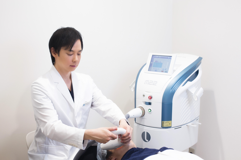 ダウンタイムが短く、正常な素肌にはダメージをあたえない美肌治療