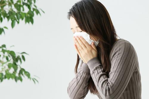 秋の花粉症の特徴