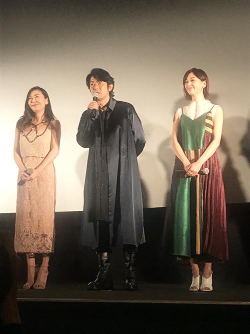 『蝶の眠り』舞台挨拶つきプレミア試写会 ─alluxe Cinema
