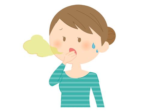 口臭発生のメカニズム