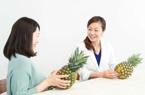 パイナップルには嬉しい効果がいっぱい